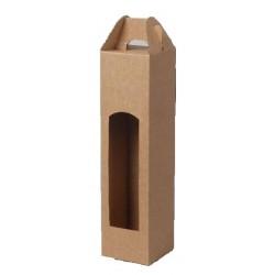 Kartonová krabice na 1 lahev přírodní