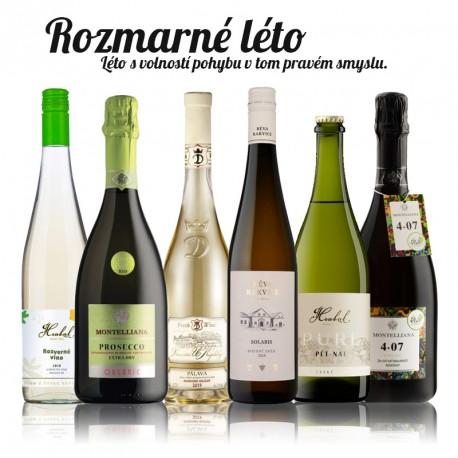 """""""S""""nový balíček osvěžujících a netradičních vín"""