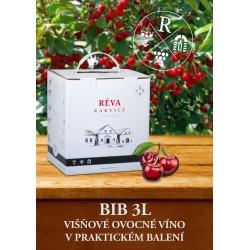 Višňové ovocné víno BIB 3l