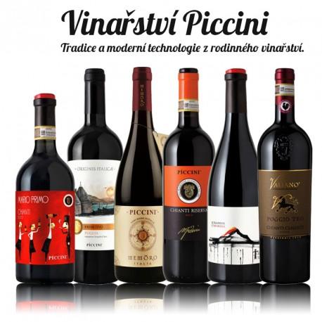 Vinařství Piccini - degustační balíček