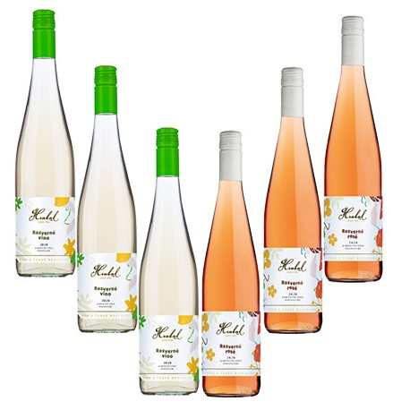Balíček Rozverného vína mix s dopravou zdarma