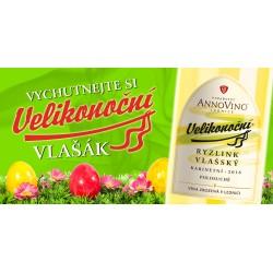 Velikonoční víno Ryzlink vlašský kabinet