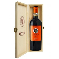 Chianti DOCG Orange Label 1,5l dřevěná kazeta