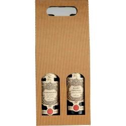 Kartonový obal na víno/2lahve