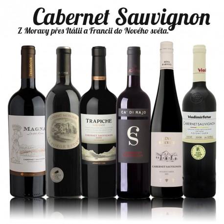 Cabernet Sauvignon - degustační balíček