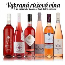 Vybraná růžová vína