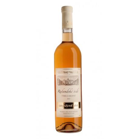 Rulandské šedé oranžové víno výběr z hroznů