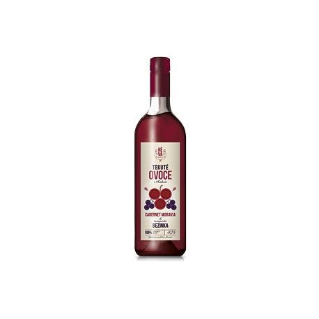 Ovocný mošt Tekuté ovoce Cabernet Moravia + bezinka BIO