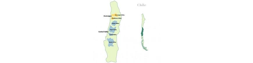 Chilská vína